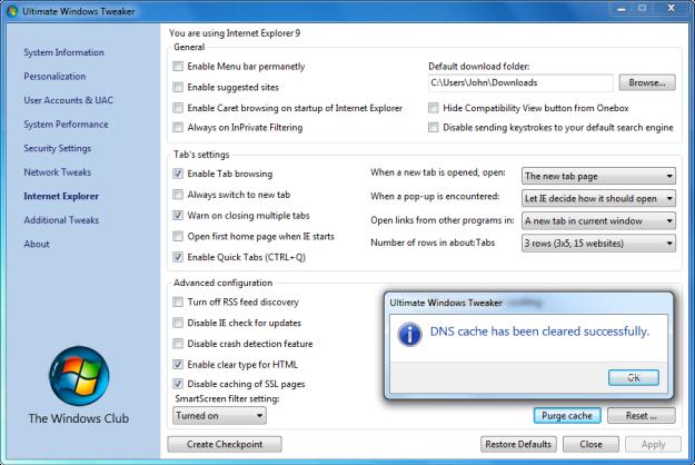 Windows Customizing